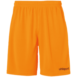 Center Basic Shorts Voksen - Orange/sort
