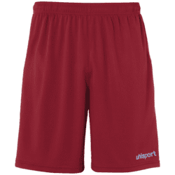 Center Basic Shorts Voksen - Bordeaux/lyseblå