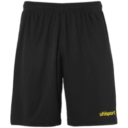 Center Basic Shorts Voksen - Sort/gul