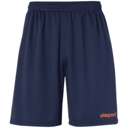 Center Basic Shorts Voksen - Navy/rød