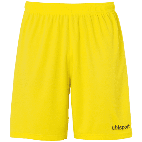 Center Basic Shorts Voksen - Gul/sort
