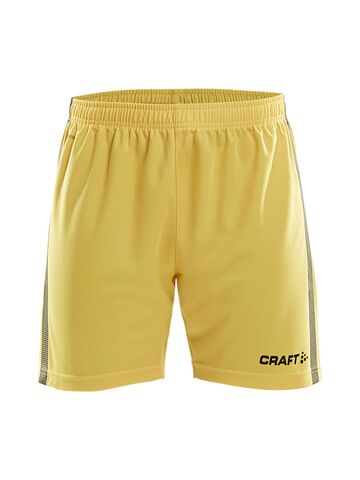 Pro Control Shorts Damer - Gul/sort