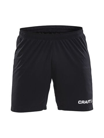 Progress Contrast Shorts - Sort/gul